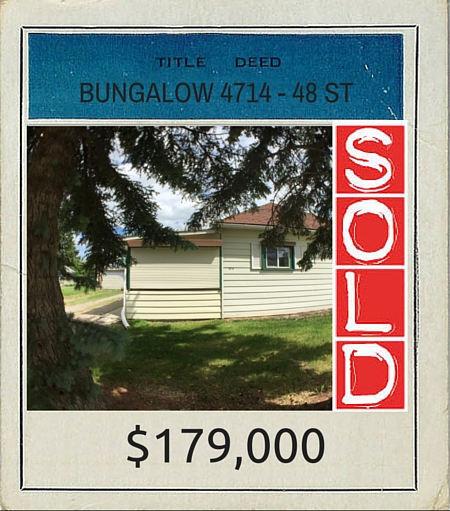 TITLE DEED 2016 Bungalow 4714 - 48 st SOLD