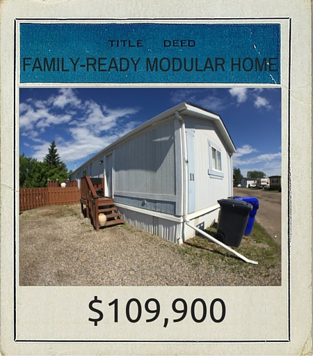 TITLE DEED 2016 FAMILY-READY MODULAR HOME