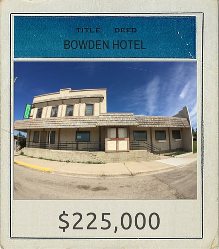 TITLE DEED Bowden Hotel