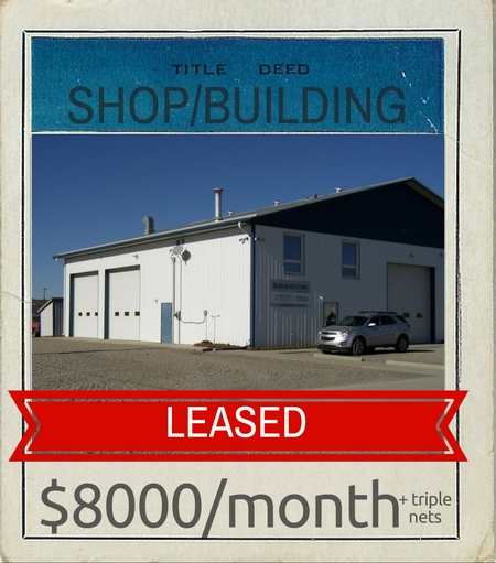2017 SHOP+BLDG LEASED